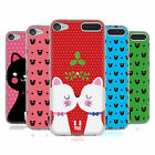 HEAD CASE DESIGNS CHRISTMAS CATS SOFT GEL CASE FOR APPLE iPOD TOUCH MP3