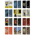 STAR TREK ICONIC CHARACTERS TOS LEATHER BOOK CASE FOR BLACKBERRY ASUS ONEPLUS