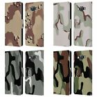 HEAD CASE MILITARY CAMO LEATHER BOOK WALLET CASE COVER FOR SAMSUNG PHONES 2