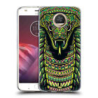 HEAD CASE DESIGNS AZTEC ANIMAL FACES SERIES 6 SOFT GEL CASE FOR MOTOROLA PHONES