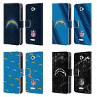 OFFICIAL NFL 2017/18 LOS ANGELES CHARGERS LEATHER BOOK CASE FOR SONY PHONES 2