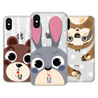 HEAD CASE DESIGNS CUTE ANIMAL FACES HARD BACK CASE FOR APPLE iPHONE PHONES