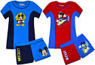 Boys New Mickey Mouse Swimsuit Surf Suit Swimming Costume Kids Swimwear Age 3-8Y