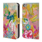 OFFICIAL WYANNE BIRDS 2 LEATHER BOOK WALLET CASE COVER FOR APPLE iPOD TOUCH MP3