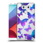 HEAD CASE DESIGNS BUTTERFLY PARADISE HARD BACK CASE FOR LG PHONES 1