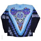 New GRATEFUL DEAD Midnight Hour Long Sleeve Tie Dye T Shirt image