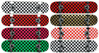 Checker Pro Maple Complete Skateboard Ready To Ride - Pick Size and Color image