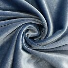57 Colors Princess Polyester Stretch Velvet Fabric by the Yard - 10001