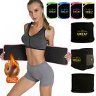 tummy wrap - Hot Waist Tummy Trimmer Sweat Band Body Shaper Belt Wrap Fat Burn Slim Exercise
