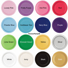 """Round Paper Plates 7"""" (20pack) & 9"""" (16pack) Party Birthday Tableware Disposable"""