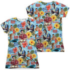 Elvis Presley SURF'S UP 2-Sided Sublimated All Over Print Poly Juniors T-Shirt