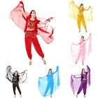 USA Belly Dance Costume Chiffon Veil Scarf Wrap Competition Indian Dance Wear