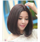 Women Short Wig Black Brown Wig Bob Style Wigs Cosplay Synthetic Anime Full Wigs