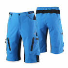 Casual Men's Cycling Short Mountain Bike Baggy MTB Shorts Bottoms Pants Zipper