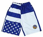 Zipway NBA Men's Golden State Warriors Flag Athletic Shorts