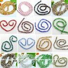 """10mm Colors Crystal Glass Twist Loose Beads 26.5"""" Fit Jewelry Making Finding Diy"""