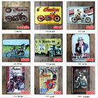 garage wall paint - Vintage Tin Signs Motorcycle Plaque Art Wall Decor Poster Iron Garage Paintings