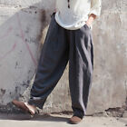 Chinese Style Women's Retro Cotton Linen Loose Casual Pants Yoga Loose Bloomers