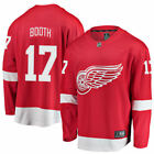 Fanatics Branded David Booth Detroit Red Wings Red Breakaway Player Jersey