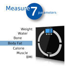 New Digital Body Weight Scale 400lb Bathroom Fat Health BMI Muscle Calorie Scale