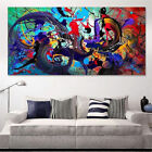 Внешний вид - Modern Abstract Canvas Print Art Oil Painting Wall Picture Home Decor Unframed