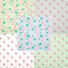 Pink Mint Blue KIDS FLAMINGO FABRIC Polycotton Craft Material METRE Fat Quarter