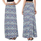Stella Morgan Womens Designer Long Skirt Ladies Paisley Maxi With Braided Belt