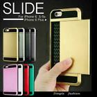 Card holder Shockproof hybrid case cover for Apple iphone 5 5c 5s