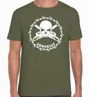 'SKULL AND CHAINSAWS' ARBORIST T-Shirt  Chainsaw/Climbing/Forestry