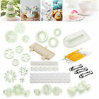 Sugarcraft Cake Decorating Fondant Icing Mould Plunger Cutters Tools Mold Set