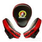 Boxing Punching Kicking Curved Target Focus Punch Mitt Gloves Pad Martial Arts