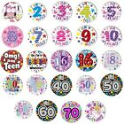 Jumbo Large Birthday Badge 1st 2nd 3rd 4th 5th 6th 7th 8th 9th 10th 11 Boy Girl