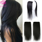 Brazilian 100 Human Hair Clip in Hairpiece Hair Extensions For Thicking Hair