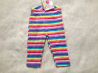 NEW***PIKOUC®BABY Girls Cotton Trousers Pants***Rainbow***1 month or 3 months