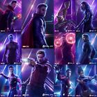 1 of 22 Avengers Infinity War, 12x18 Collector's Movie Poster Thanos, SpiderMan