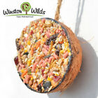 CoCo Feeder [ Banquet ] Coconut, Wild Bird Suet Treat - made by Winston Wilds.