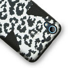 For HTC Desire 626 626S Design Shockproof Dynamic Tuff Hybrid Hard Phone Case