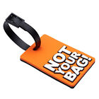 2pcs Travel Luggage Tags Suitcase Handbag School Bag Name Adress ID Label