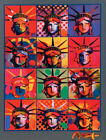 Peter Max Liberty and Justice for All Art Poster Print 24'' 36'' 47'' Wallpaper