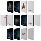 OFFICIAL STAR TREK DISCOVERY LOGO LEATHER BOOK WALLET CASE COVER FOR APPLE iPAD on eBay