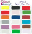M&B Ready To Roll Luxury Sugar Paste Colours Free Post