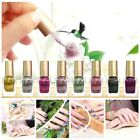 8 Colors Nail Polish 6 ML Glue Art Gel Lacquer Newest Colors Metal Bright