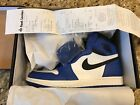 2018 Nike Air Jordan 1 Retro High OG Game Royal 555088 403 W FOOT LOCKER RECEIPT