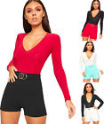 Womens High Waisted Metal Buckle Stretch Hot Pants Ladies Plain Crepe Shorts