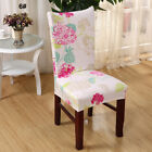 Seat Spandex Removable Chair Colorful Banquet Stretch Decor Cover Dining Room