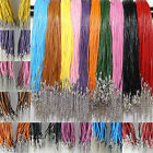 10/20pcs Real Round Leather Cord 2mm String Lace Thong For Jewellery Making Diy