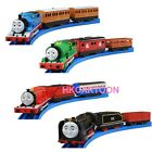 JAPAN TOMY THOMAS & FRIENDS SPEECH & MUSIC MOTORIZED TRAIN W/ 2 TRUCKS