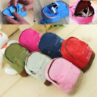 Portable Women Men Backpack Coin Card Bag Mini Wallet Hand Pouch Purse Handbags image