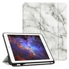 "For iPad 9.7"" 2018 2017 Case Smart Stand Cover with Built-in Apple Pencil Holder"