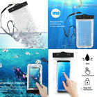 Waterproof Bag Underwater Pouch Dry Case Cover For iPhone Cell Phone Samsung